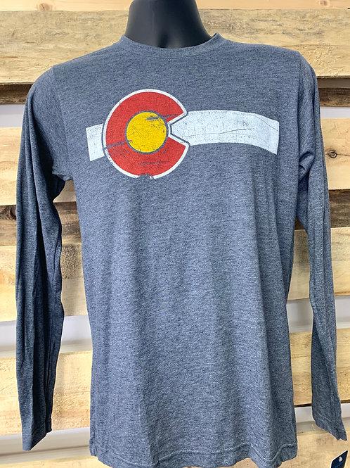 Men's Colorado long sleeve t-shirt