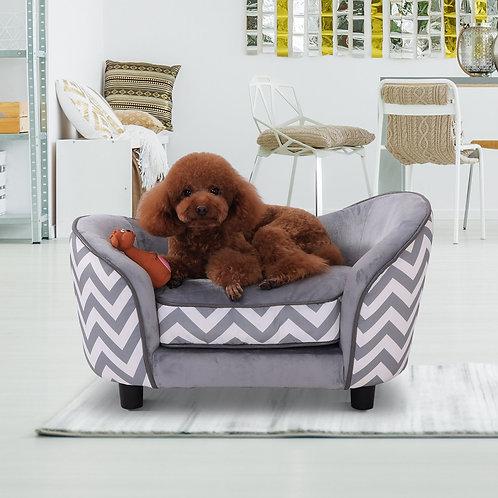 PawHut Pet Soft Warm Sofa Elevated Dog Puppy Sleeping Bed Bed Raised