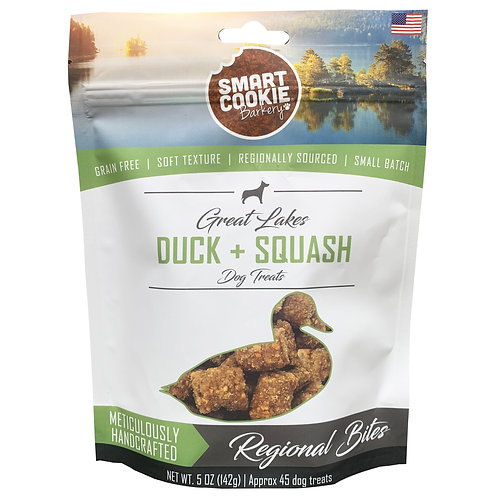 Great Lakes Duck + Squash Dog Treats