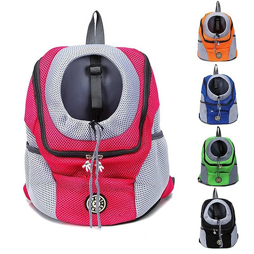 Outdoor Nylon Pet Dog Carrier Bag Double Shoulder Portable Travel
