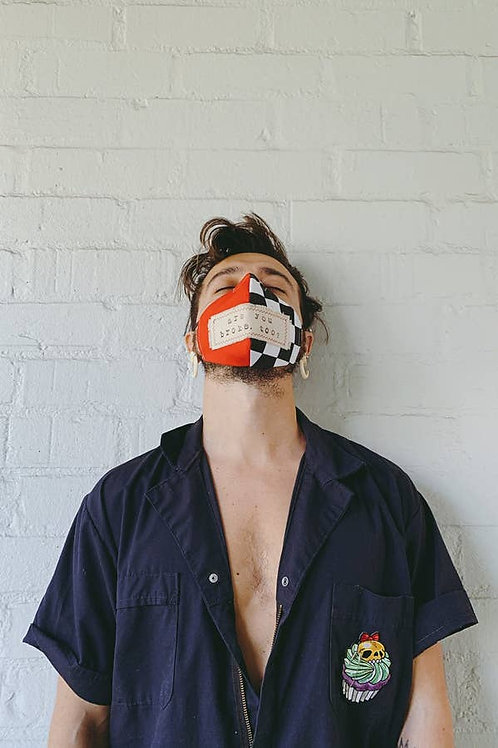 Are you broke too? Face mask