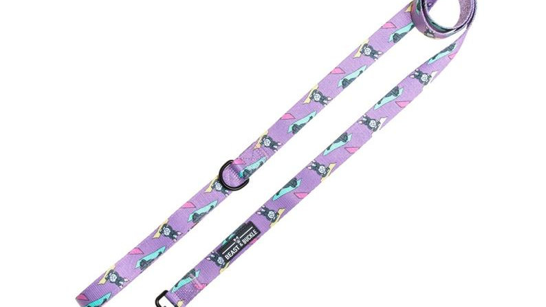 Beast and Buckle yoga print leash