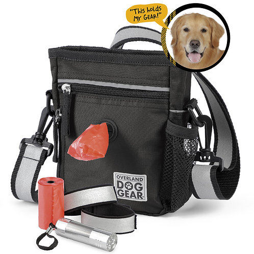 Mobile Dog Gear Day/Night 6 Pc Walking Bag