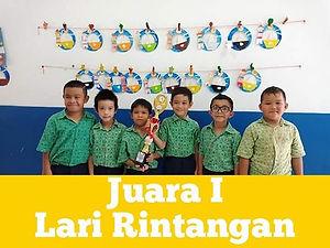 CONGRATULATIONS!_JUARA I_Lomba Lari Rint
