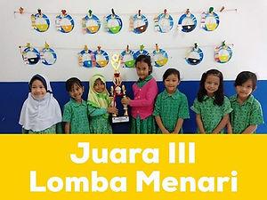 CONGRATULATIONS!_JUARA III_Lomba Menari_