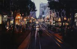 Dusk in San Francisco