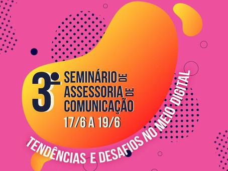 Curso de Jornalismo promove III Seminário de Assessoria de Comunicação