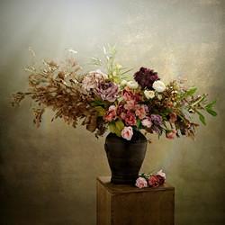 Painterly Vintage Flowers