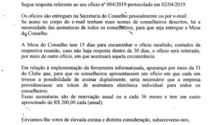 O papel e a efetividade dos conselheiros do Santos