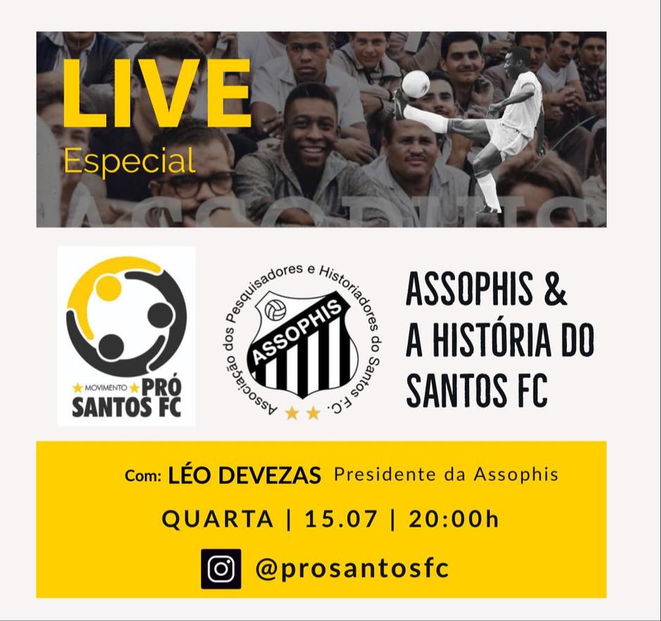 Live semanal terá a participação de presidente da Assophis