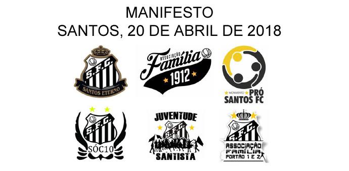 Manifesto sobre situação política do Santos FC