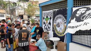 CachaSantista faz quarta ação solidária contra Covid-19