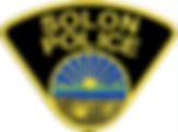 Solon Police Badge