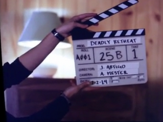 DEADLY RETREAT Behind the Scenes: