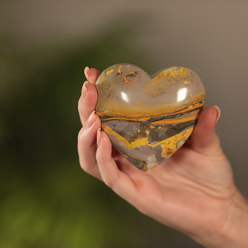Bumblebee Jasper Heart