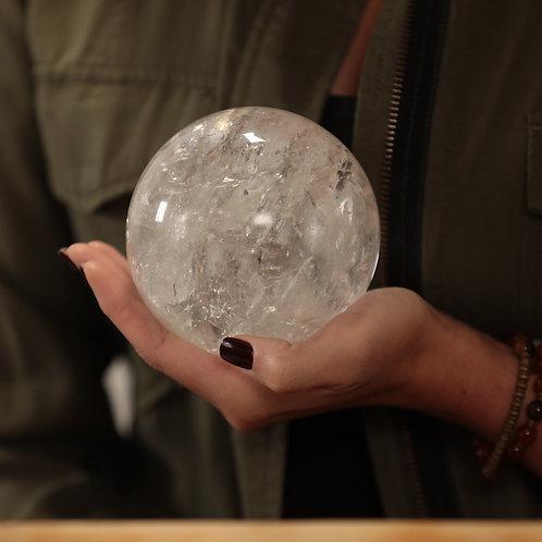 Clear Quartz  Sphere Premium (Large)
