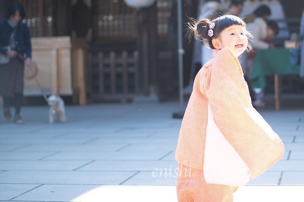 七五三 / 3歳女の子 / ロケーションフォト / ロケーション撮影 / 府中 / 出張撮影