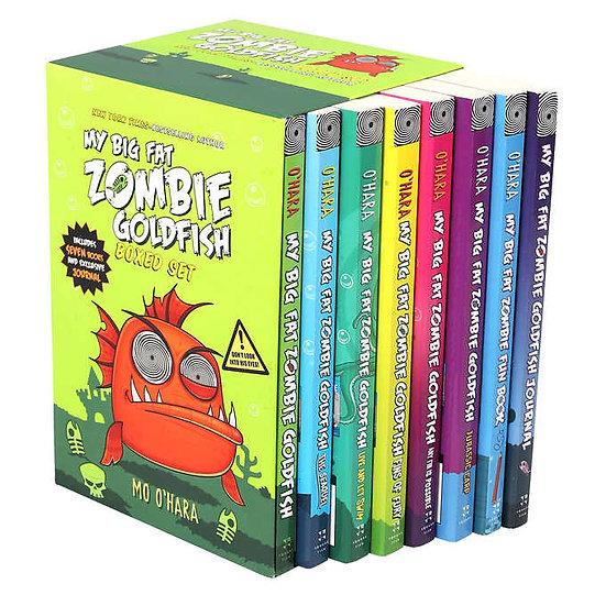 My Big Fat Zombie Goldfish: 8 Book Box Set by Mo O'Hara