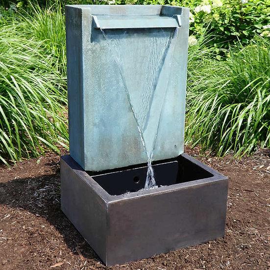 Cascading Water Outdoor Fountain