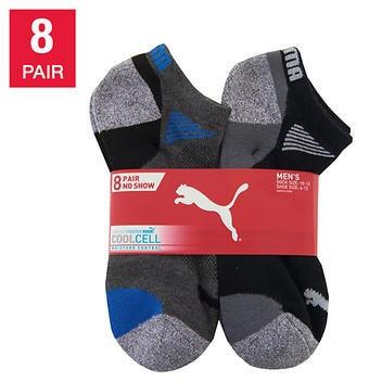 Puma Men's No Show Sock, 8-pair