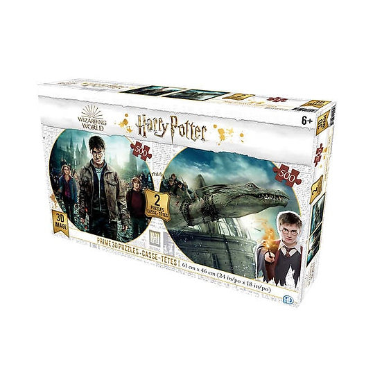 Harry Potter Lenticular Puzzles – Twin Pack