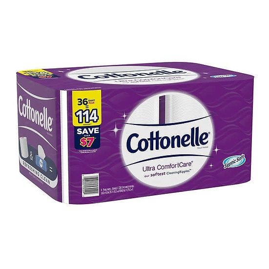 Cottonelle Ultra ComfortCare Bath Tissue, 2-ply, 226 Sheets, 36 Rolls