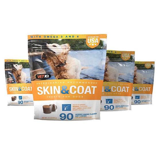 Vetiq Skin and Coat Dog Supplement Chews, 360-Count
