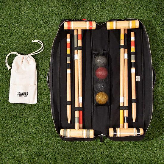 League & Company Croquet Set