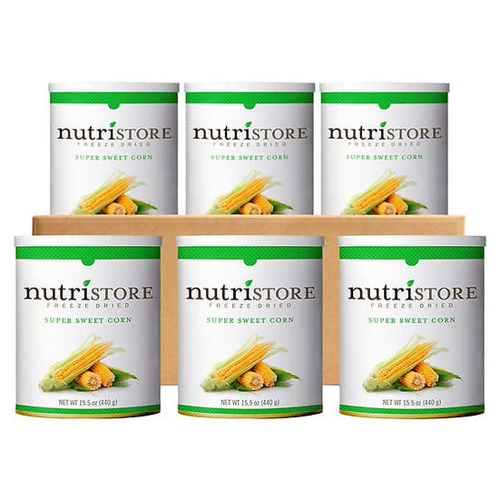 Nutristore Freeze Dried Corn 6-count