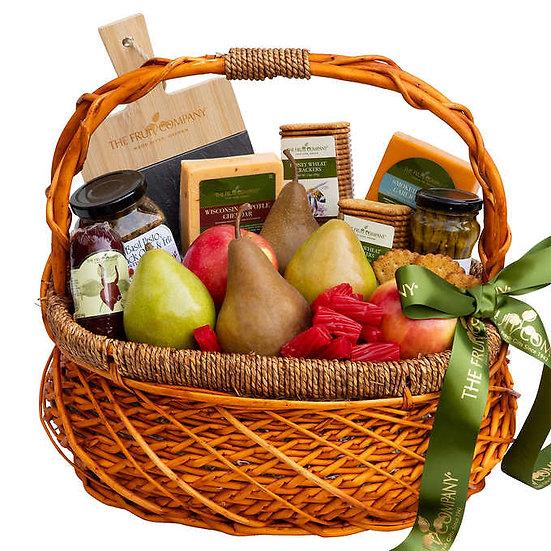 The Fruit Company Savory Charcuterie Basket