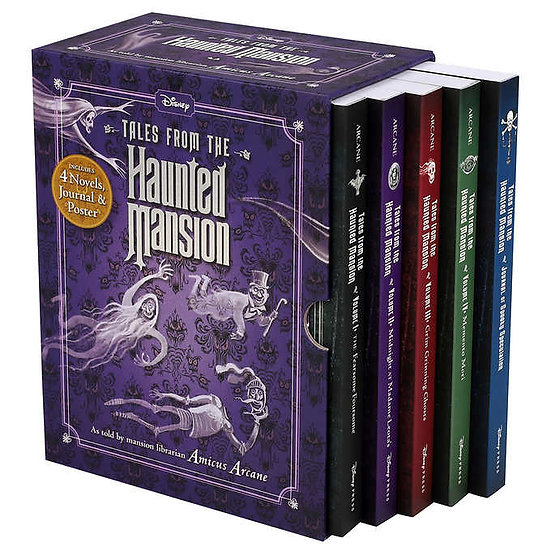Haunted Mansion: 4 Book Box Set with Journal