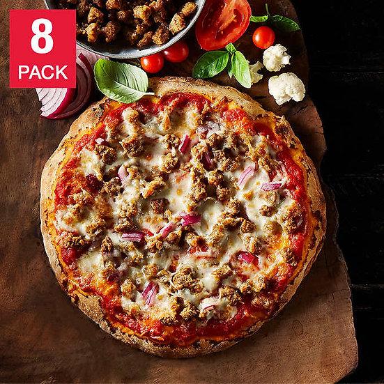 "Oggi Siciliana Beyond Meat Italian Sausage Substitute 8 x 9.5"" Pizza"