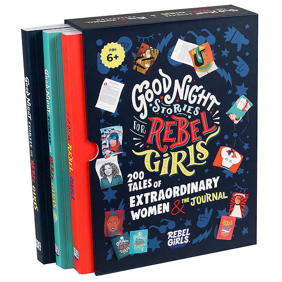 Goodnight Stories for Rebel Girls: 2 Book Set