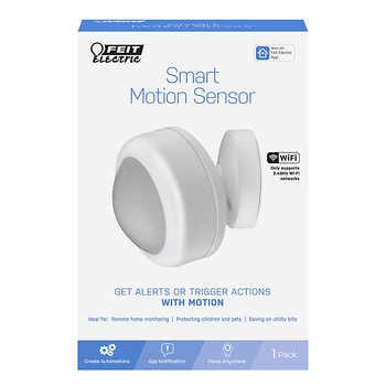 Feit Electric Wi-Fi Smart Motion Sensor 3-pack, Model  MOT/PIR/WIFI/BAT/3