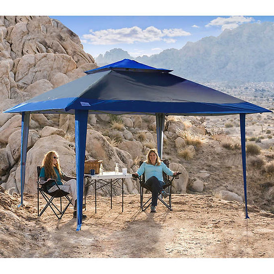 POPUPSHADE 13'x13' Instant Canopy with POPLOCK Central-Hub Frame