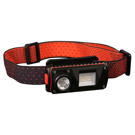 Feit Rechargeable LED Headlamp, 2-pack