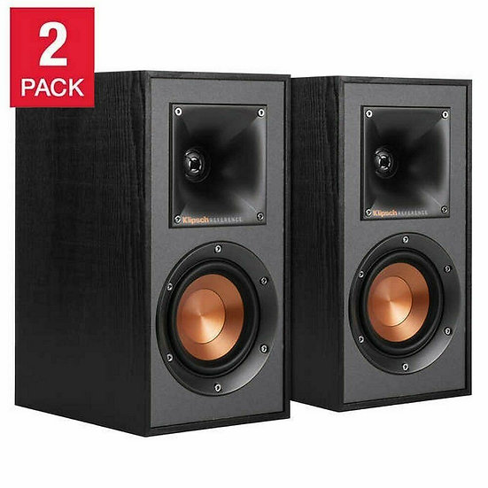 Klipsch Bookshelf Speakers, 2-pack, Model  R-41M