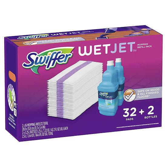 Swiffer Wet Jet Mopping Refill Kit