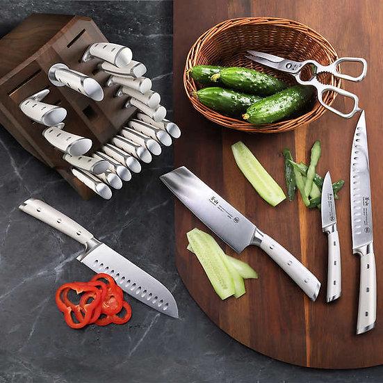 Cangshan S1 Series 23-Piece Forged German Steel Knife Block Set