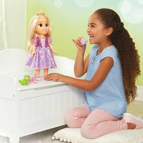 Disney Princess Doll Tea Time with Rapunzel and Pascal
