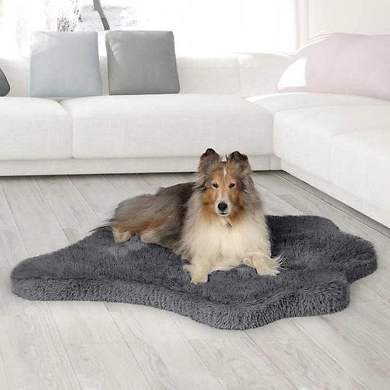 Brentwood Originals Faux Fur Pet Mat Charcoal