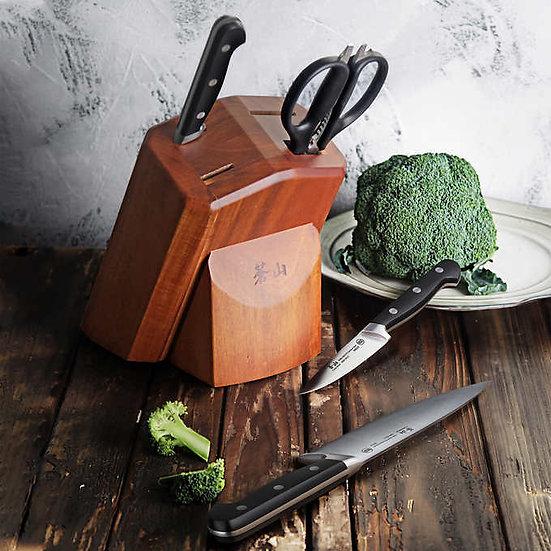 Cangshan V2 Series 5-Piece Forged German Steel Knife Block Set