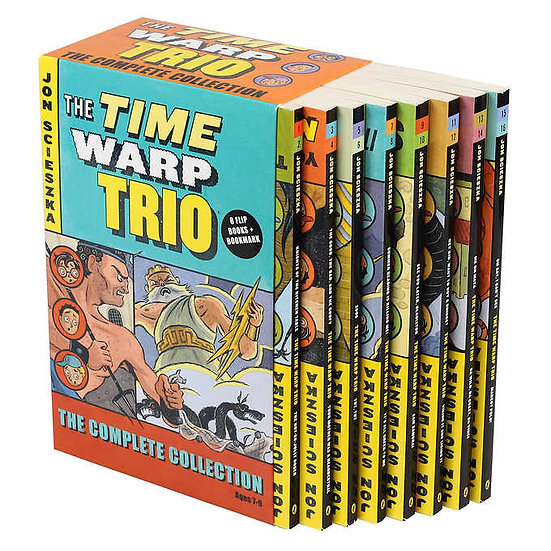 The Time Warp Trio Collection: 8 Book Box Set