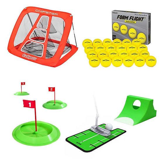 GoSports Starter Golf Practice Bundle