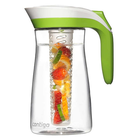 Contigo 72oz BPA-Free Infuser Pitcher With Ice Core and Autoseal Technology