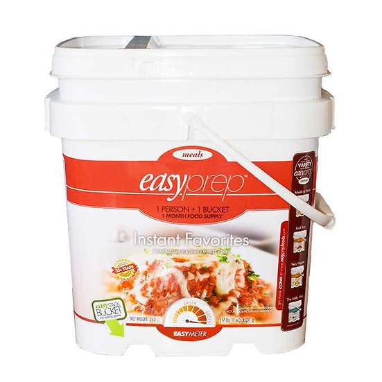 EasyPrep Cook in Bag Instant Entree Bucket