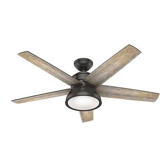 """Hunter Abernathy LED 52"""" Ceiling Fan"""