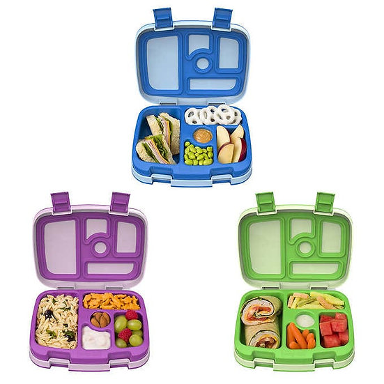 Bentgo Kids Lunch Box Containers, 3-Pack