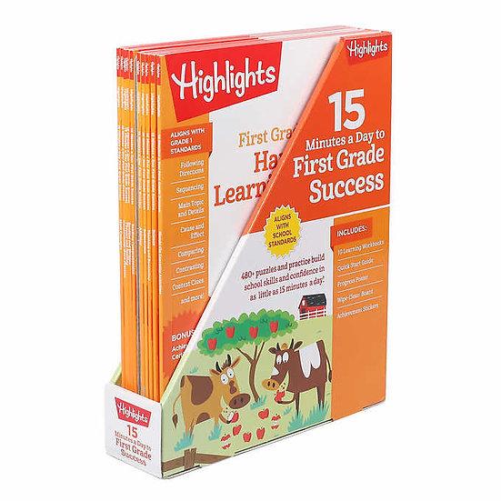Highlights First Grade Success: 10 Book Wedge