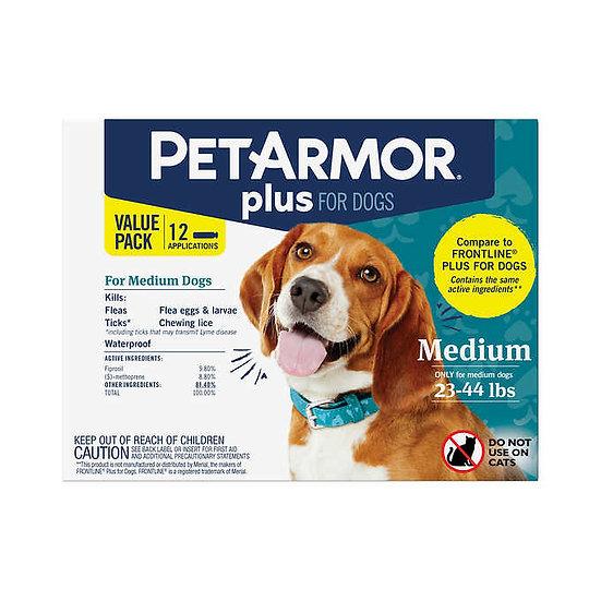 PetArmor Plus Flea, Tick and Lice Formula for Dogs 23-44 lbs.